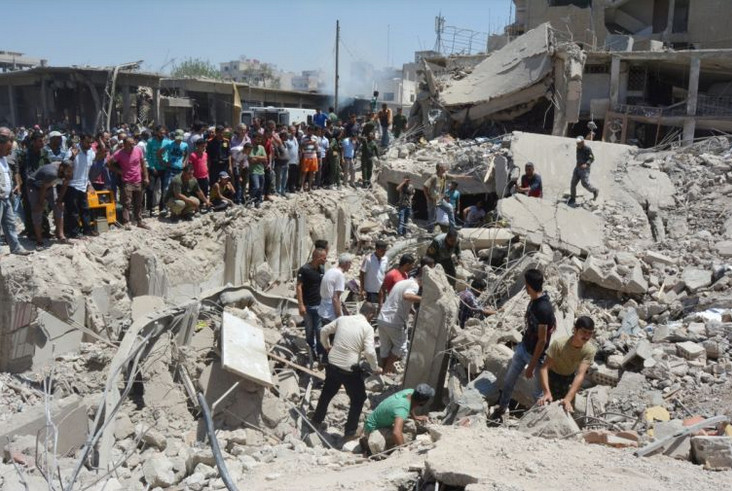 Qamishli Daesh Anschlag 2